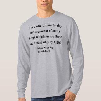 エドガーアレンPoeの引用文3a Tシャツ