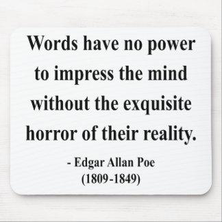 エドガーアレンPoeの引用文4a マウスパッド