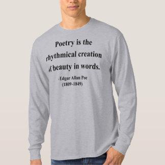 エドガーアレンPoeの引用文5a Tシャツ