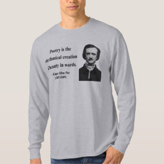 エドガーアレンPoeの引用文5b Tシャツ