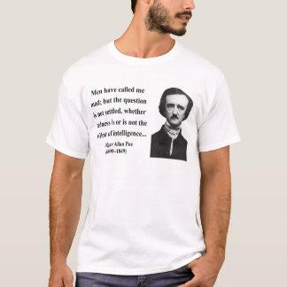 エドガーアレンPoeの引用文9b Tシャツ