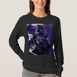 エドガーアレンPoeの長い袖のワイシャツ Tシャツ