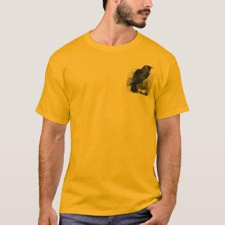 エドガーアレンPoe著ワタリガラス Tシャツ