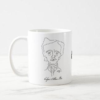 エドガー・アラン・ポーのマグ コーヒーマグカップ