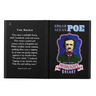 エドガー・アラン・ポーのワタリガラスの引用文およびポートレート POWIS iPad AIR 2 ケース