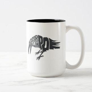 エドガー・アラン・ポー-ワタリガラス ツートーンマグカップ