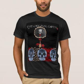 エドガー・アラン・ポー(元のゴシック) Tシャツ