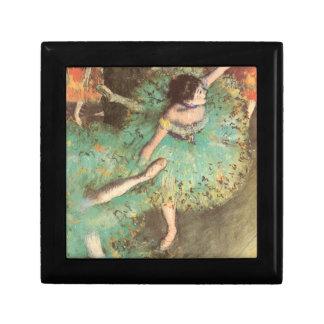 エドガー・ドガのヴィンテージのバレエ著緑のダンサー ギフトボックス
