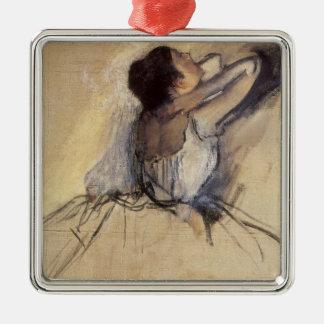 エドガー・ドガのヴィンテージのバレリーナの芸術著ダンサー メタルオーナメント