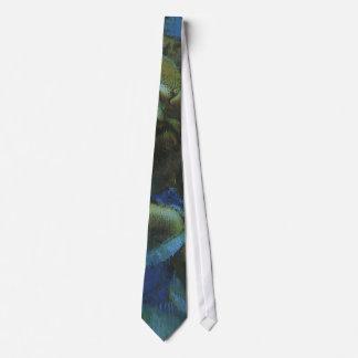 エドガー・ドガのヴィンテージの印象主義著青いダンサー ネクタイ
