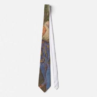 エドガー・ドガのヴィンテージの芸術による道化師そしてオダマキ(植物) ネクタイ