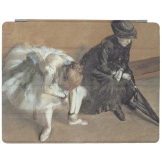 エドガー・ドガ待っている  c.1882 iPadスマートカバー