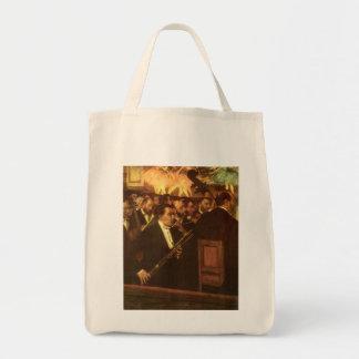 エドガー・ドガ著オペラ、ヴィンテージの芸術のオーケストラ トートバッグ