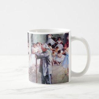 エドガー・ドガ著ダンス教室、ヴィンテージのバレエの芸術 コーヒーマグカップ