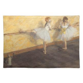 エドガー・ドガ著バー、ヴィンテージのバレエのダンサー ランチョンマット