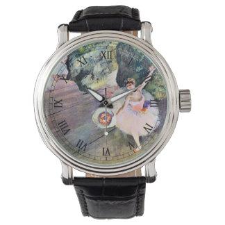 エドガー・ドガ著花の花束を持つダンサー 腕時計