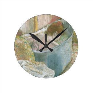 エドガー・ドガ| Bath ラウンド壁時計
