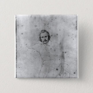エドガーQuinet 1833年 5.1cm 正方形バッジ