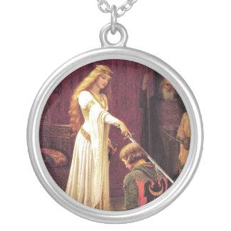 エドマンドブレアLeighton: 栄誉証のネックレス シルバープレートネックレス