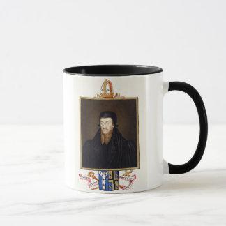 エドマンドGrindal (c.1519-83)の大主教のポートレート マグカップ