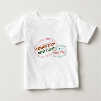 エドモントンそこにそれされる ベビーTシャツ