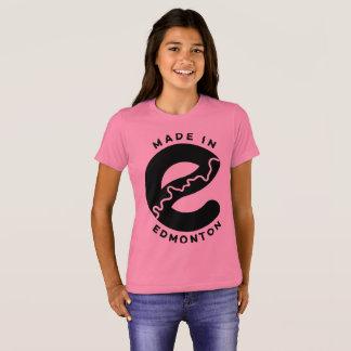 エドモントンで作られる Tシャツ