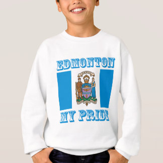 エドモントンのデザイン スウェットシャツ