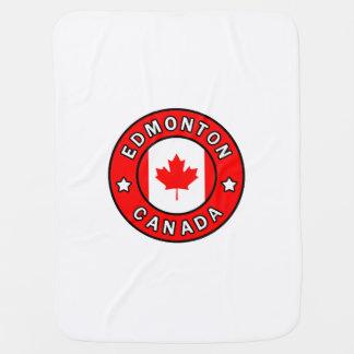 エドモントンカナダ ベビー ブランケット