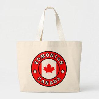 エドモントンカナダ ラージトートバッグ