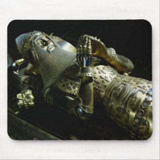 エドワードの彫像黒い王子1376年 マウスパッド