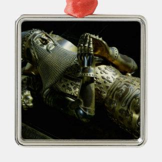 エドワードの彫像黒い王子1376年 メタルオーナメント