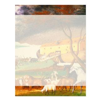 エドワードの田舎者のノアの箱舟 レターヘッド