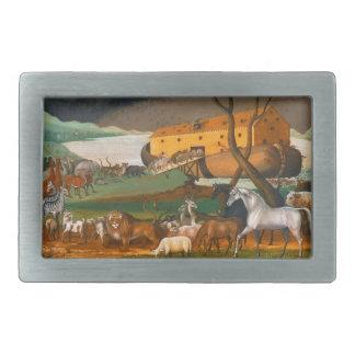 エドワードの田舎者のノアの箱舟 長方形ベルトバックル