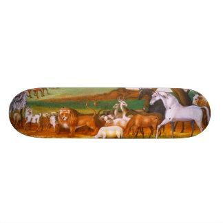 エドワードの田舎者のノアの箱舟 18.1CM オールドスクールスケートボードデッキ