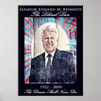 エドワードケネディの記念するポスター ポスター