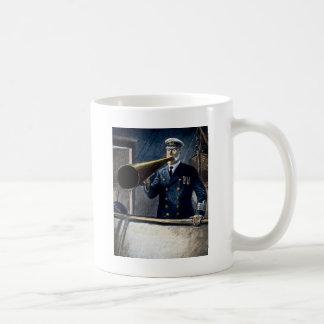 エドワードスミスRMS Titanic大尉のヴィンテージ コーヒーマグカップ
