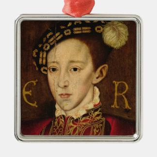 エドワード六世のポートレート メタルオーナメント