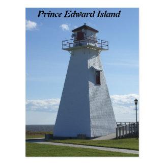エドワード島灯台王子 ポストカード
