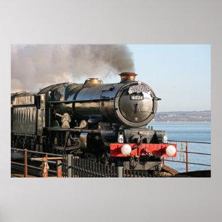 エドワード1王の蒸気機関 ポスター