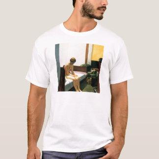 エドワード・ホッパーのホテルの部屋 Tシャツ