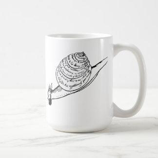 エドワード・リアのカタツムリ郵便 コーヒーマグカップ