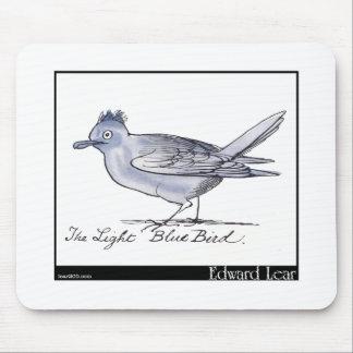 エドワード・リアの淡いブルーの鳥 マウスパッド