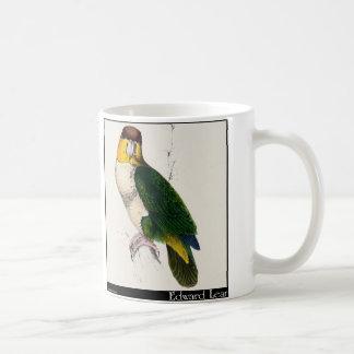 エドワード・リアの湾頭のオウム コーヒーマグカップ