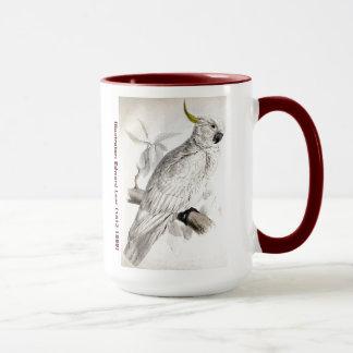エドワード・リアの鳥のより素晴らしい硫黄によって頂点に達されるオウム マグカップ