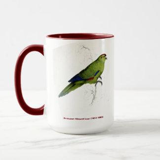 エドワード・リアの鳥のコレクションの太平洋のインコ マグカップ