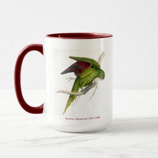 エドワード・リアの鳥のコレクションのMatonsのインコ マグカップ