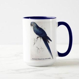 エドワード・リアの鳥のコレクション: Hyacinthineのコンゴウインコ マグカップ
