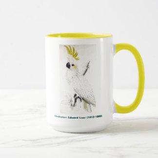 エドワード・リアの鳥少し硫黄によって頂点に達されるオウム マグカップ