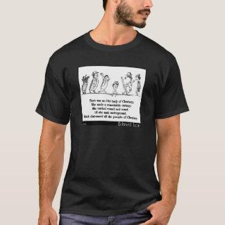 エドワード・リアのChertseyのリムリックの老婦人 Tシャツ
