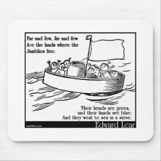 エドワード・リアのJumblies マウスパッド